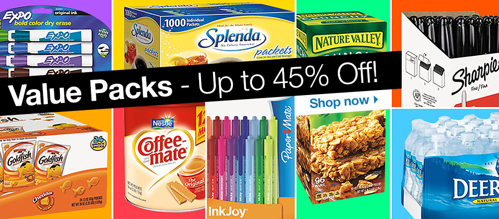 Value Pack - Save up to 45%. Shop Now