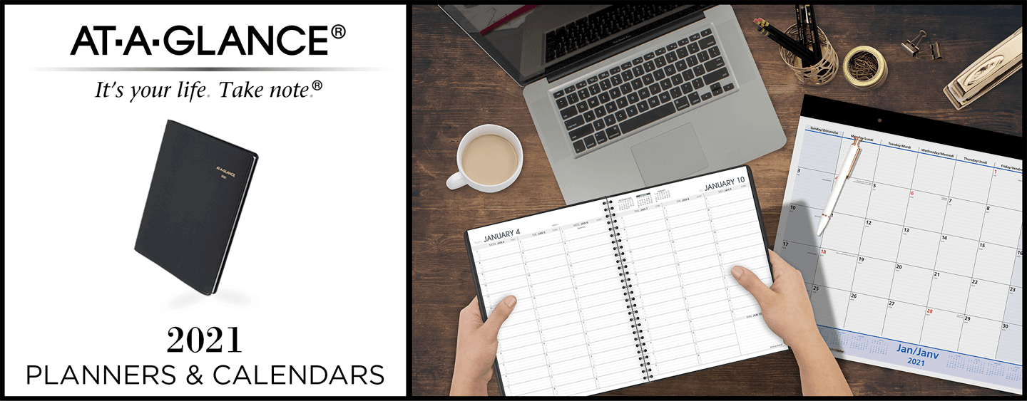 At-a-Glance 2021 Calendars and Planners