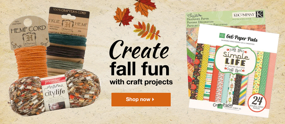 Create Fall Fun - Shop Now