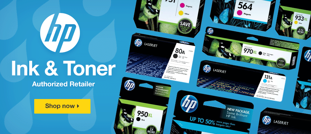 HP Ink & Toner Authorized Dealer. Shop Now