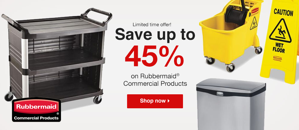 Rubbermaid - 45% Off - Shop Now
