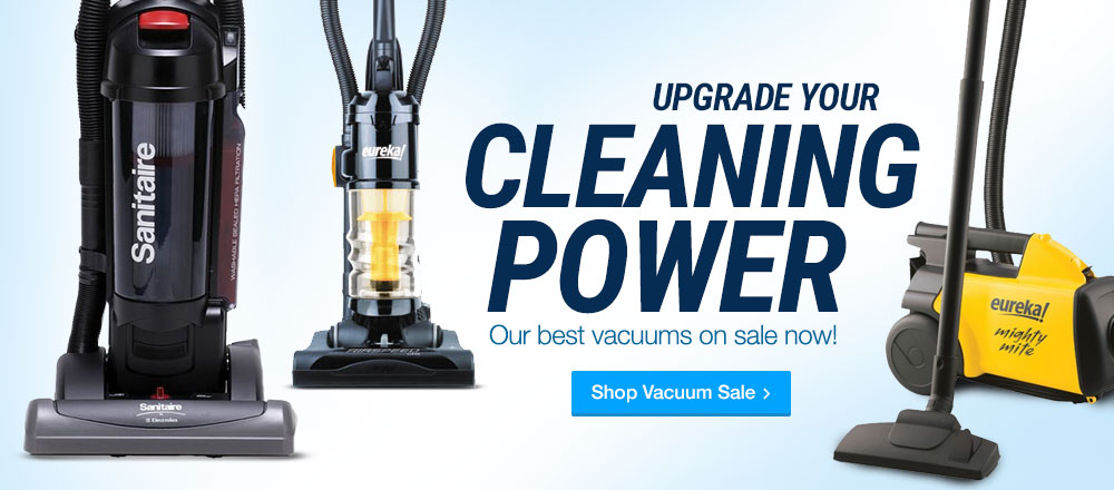 Upgrade your Power - Vacuum's on Sale Now. Shop Now