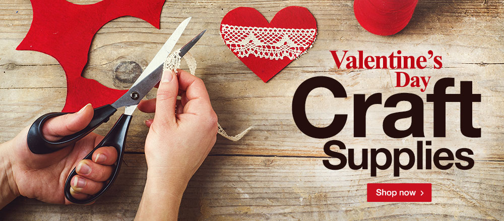 Valentine's Day Craft Supplies! Shop Now