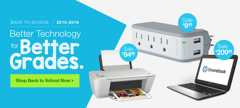Back to School Technology Products Sale - Shop Now!