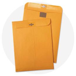 Clasp & Gummed Envelopes