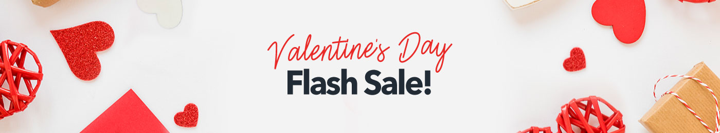 Valentine's Day Flash Sale