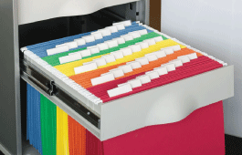 Colored Hanging File Folders