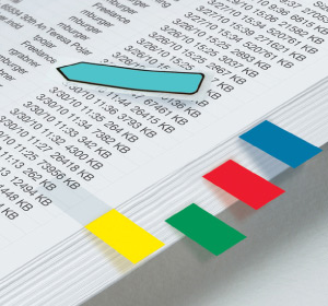 Indexing Flags & Tabs