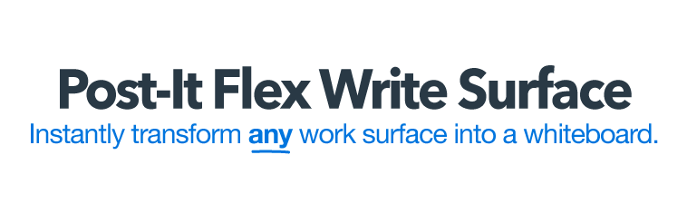 Post It Flex Write Surface