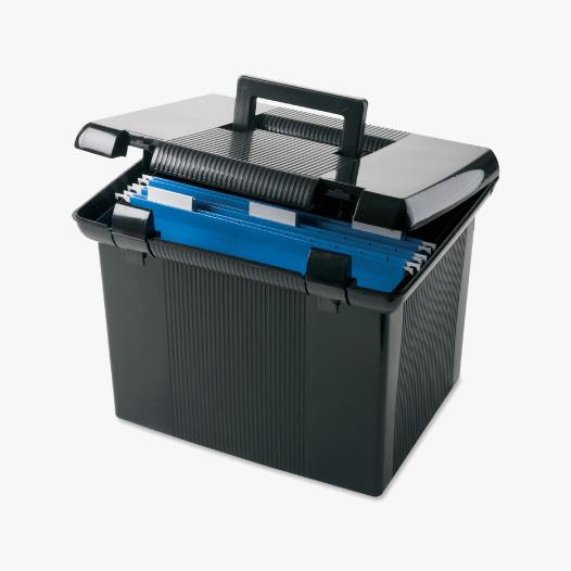 Portable Storage Files & Bins