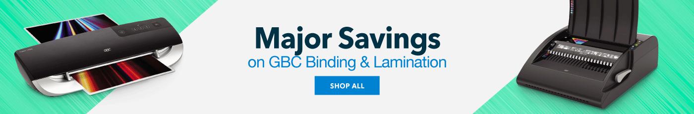 GBC Binding & Lamination