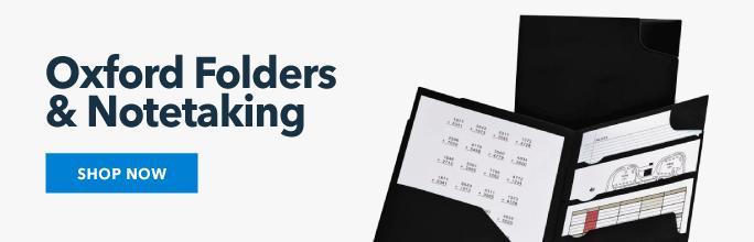 Oxford Folders & Notetaking