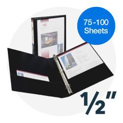1/2 inch binders