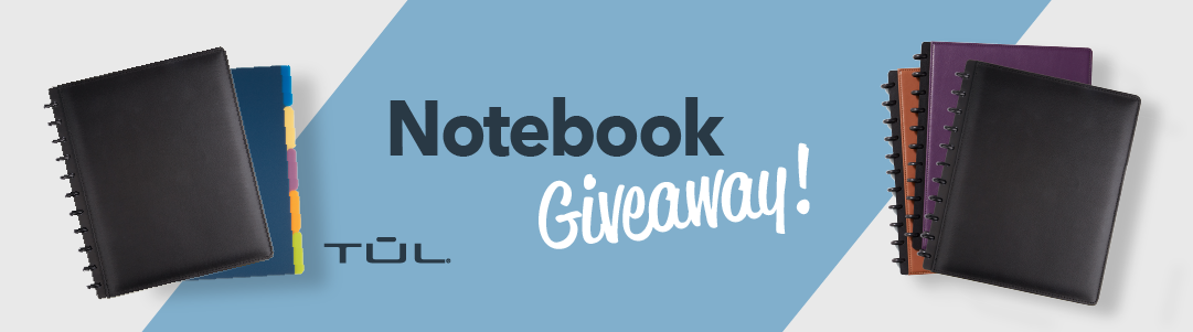 TUL Notebooks Giveaway