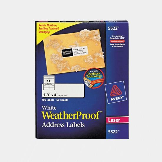 Avery WeatherProof