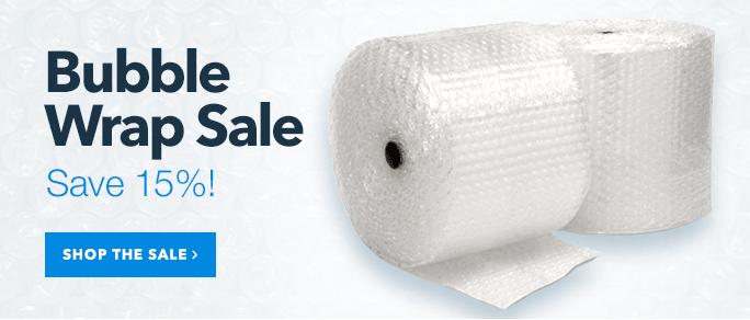 Bubble Wrap Sale