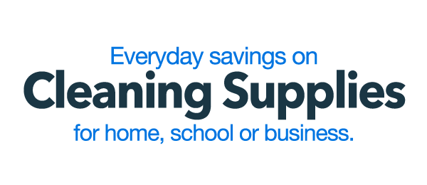 Everyday Savings on Cleaning Supplies