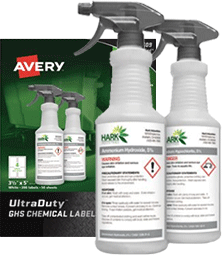 avery ghs labels