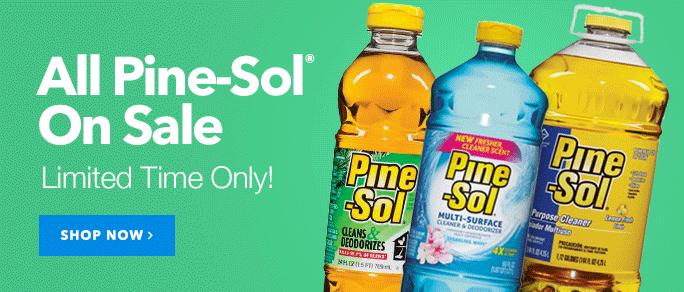 Pine Sol On Sale