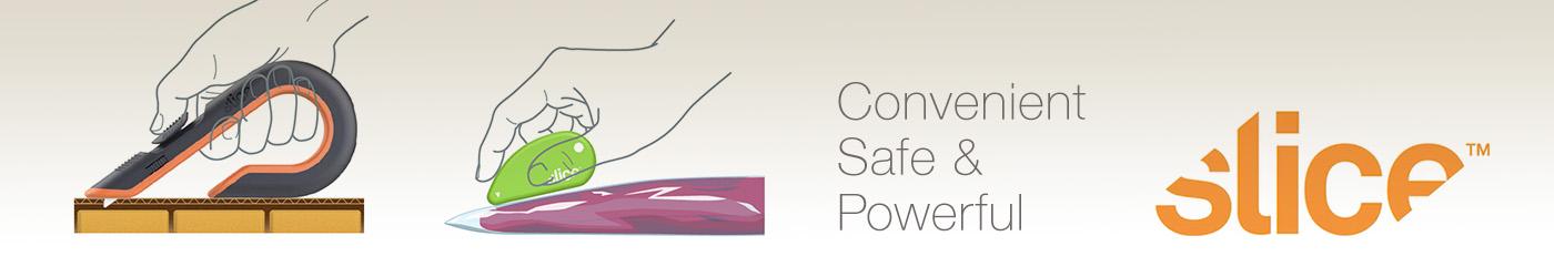 Slice Brand: Convenient Safe & Powerful