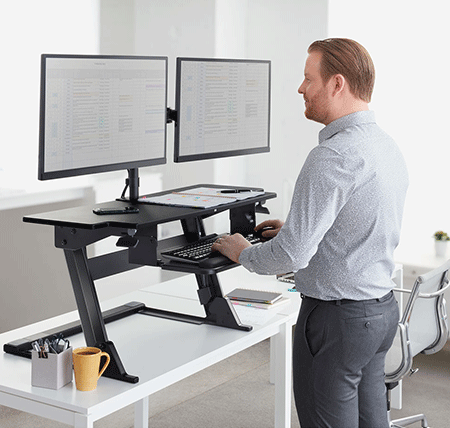 sale retailer adf24 abcec Standing Desk, Stand-Up Desk Buying Guide