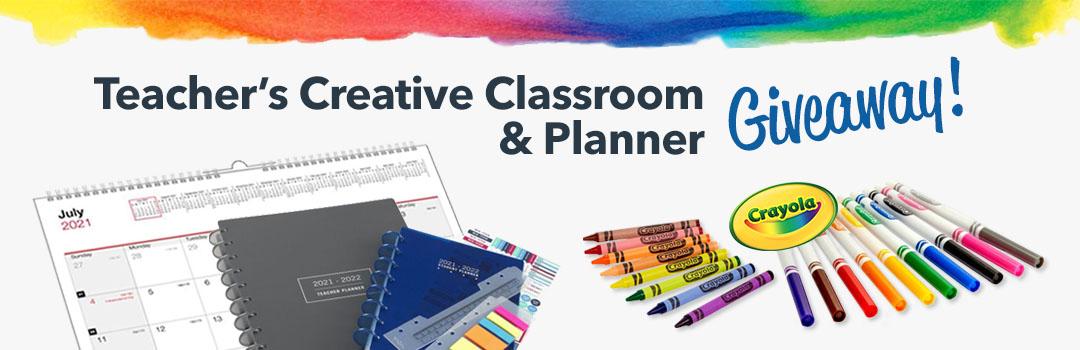 Teacher's Creative Classroom & Planner Giveaway