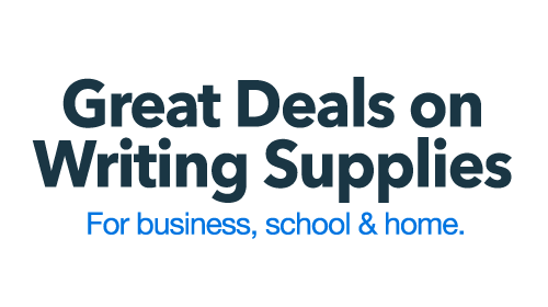 Great Deals on Writing Supplies